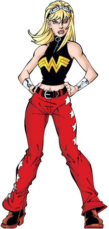 Garota Maravilha (Cassie Sandsmark)