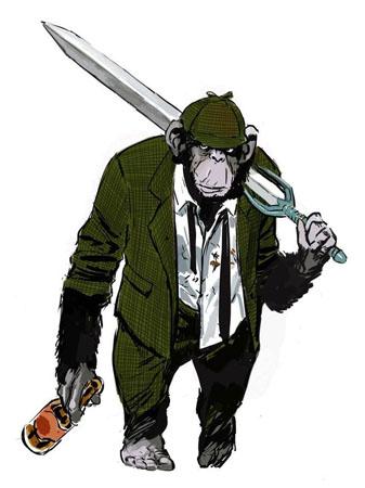 Detetive Chimp (Bobo)