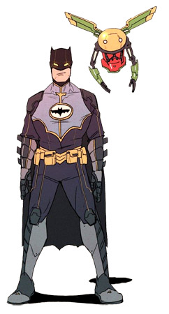 Batman Chinês (Wang Baixi) e Robinbo