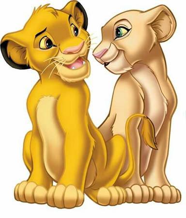 Simba e Nala