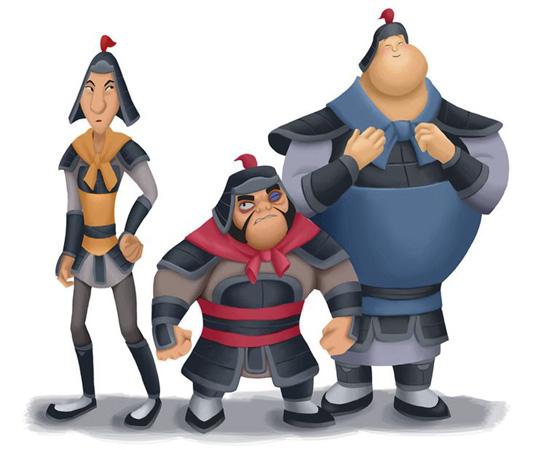 Chien Po, Ling e Yao