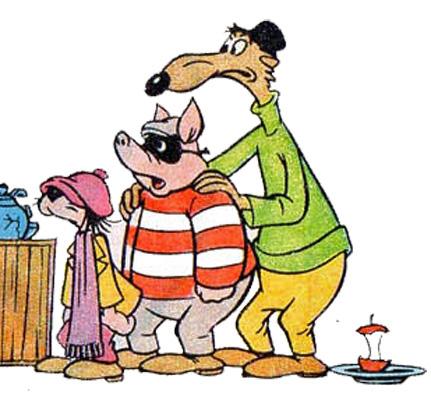 Magricela, Tatu e Boca Mole