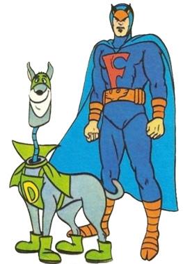 Falcão Azul e o Dinamite - o Bionicão