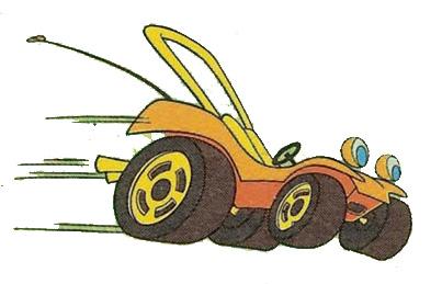 Speed Buggy, Mark, Debbie e Tinker