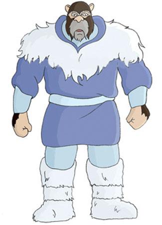Homem de Gelo e Snowmeow