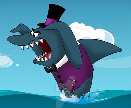 Sr. Tubarão e o Peixe Gato