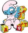 Bebê Smurf