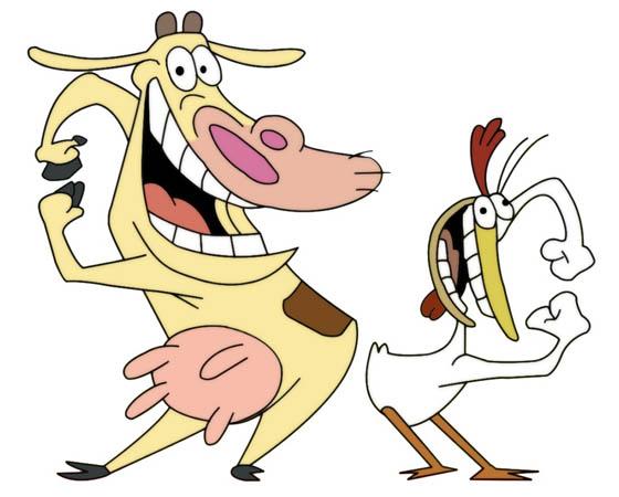 A Vaca e o Frango