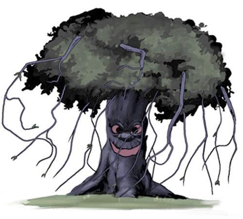�rvore Monstro