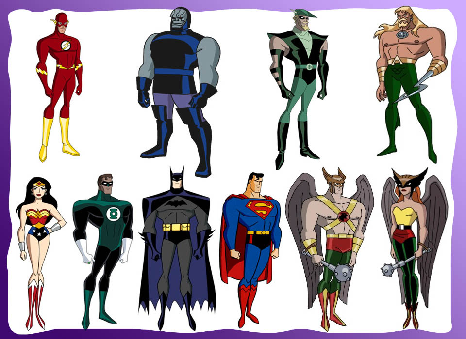 Personagens - Dc Comics