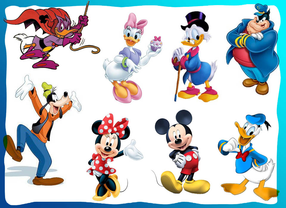 Personagens - Disney