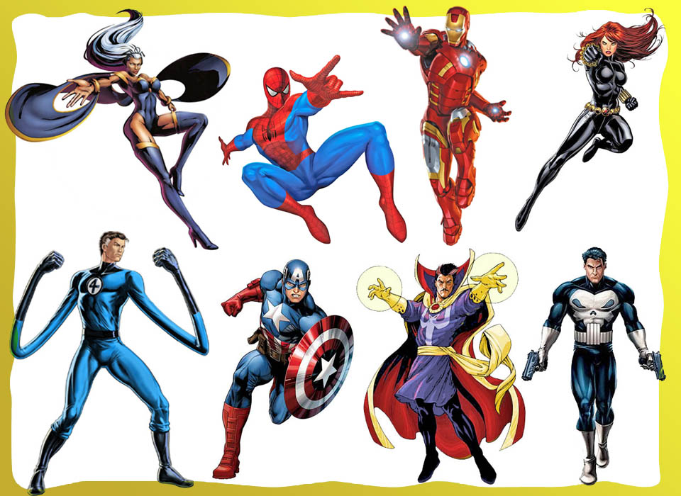 Personagens - Marvel